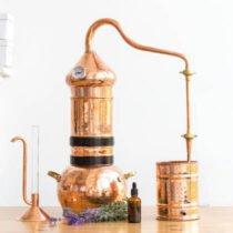 Distillatore olio essenziale : come distillare gli oli essenziali